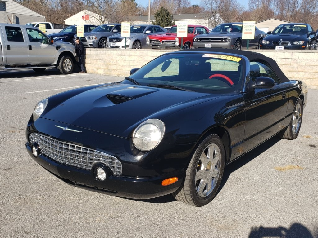 Pre Owned 2002 Ford Thunderbird Base